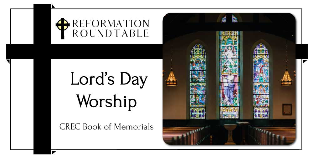 memorial on Lord's Day Worship